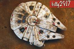Star wars millennium falcon 60cm movie prop model custom paint christmas gift