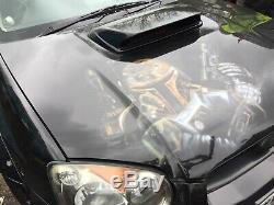 Subaru Impreza Blobeye Custom Airbrushed Star Wars Bobba Fett Bonnet & Bootlid