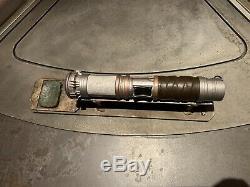 Ultimate Star Wars Galaxy's Edge Savi's Workshop Custom Built Lightsaber +EXTRAS