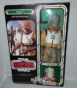 Vintage Custom Unproduced Kenner Star Wars Bossk Bounty 12 Figure Denys Fisher