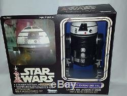 Vintage Custom Unproduced Kenner Star Wars R2-x2 Droid 12 Figure Boxed Palitoy