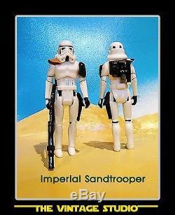Vintage Kenner Styled Custom Star Wars Sandtrooper Patrol 4-pack stormtrooper