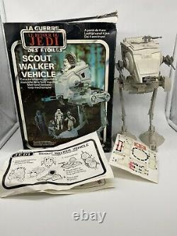 Vintage Star Wars AT-ST Scout Walker 1983 ROTJ Boxed, complete