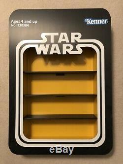 Vintage Star Wars Custom ANH Figure Display