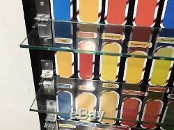 Vintage Star Wars Figure Display Unique Custom Made + Toughened Glass Shelves