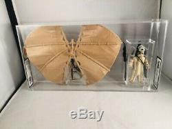 Vintage Star Wars Glider With Logray Graded 90% Gold Ukg Custom