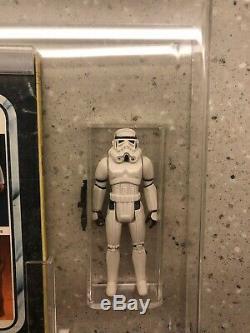 Vintage Star Wars Stormtrooper Pbp Hard Torso Poch Afa Ukg 85 Custom Grading