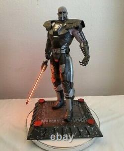 Xionart DARTH MALGUS 1/4 Scale Custom Statue Star Wars Old Republic Sold Out /56
