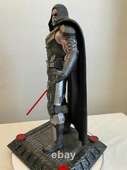 Xionart DARTH MALGUS 1/4 Scale Custom Statue Star Wars The Old Republic #21/56