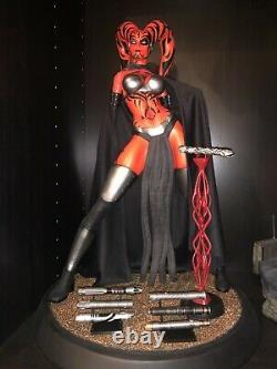 Xionart Star Wars Darth Talon statue. 1/4 scale custom statue! + EXTRAS
